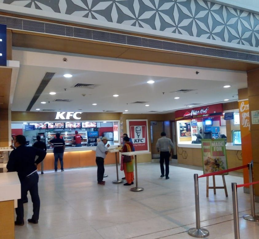 KFC Store Branding